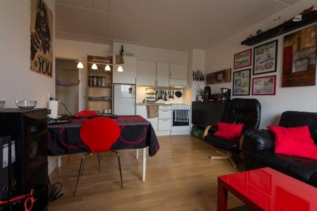 Ungdomsbolig med køkken og stue