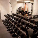 Motionsrum tilhørende studieboligen i Horsens